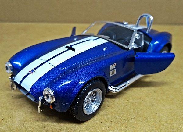Shelby Cobra 427 1965  Azul- ESCALA 1/32 - 13 CM