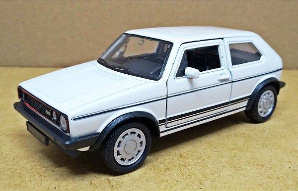 Volkswagen Golf GTI Branco - Escala 1/32 12 CM
