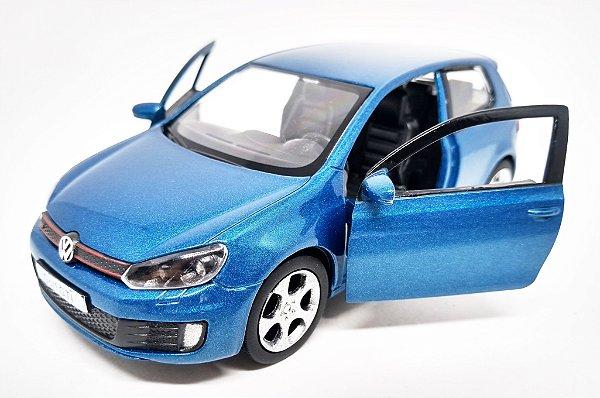 Volkswagen Golf GTI Azul - Escala 1/32 12 CM