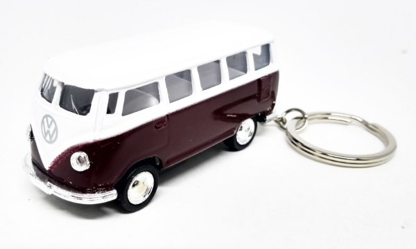 Volkswagen Kombi Vinho - Chaveiro - Escala 1/64 - 06 CM