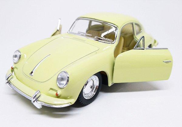 Porsche 356 B Carrera Creme - ESCALA 1/38- 12 CM