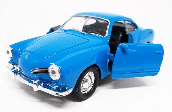 Volkswagen Karmann Ghia 1962 Azul - Escala 1/43 - 11 CM