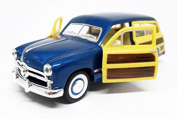 Ford Woody Wagon 1949 Azul - Escala 1/40 13 CM