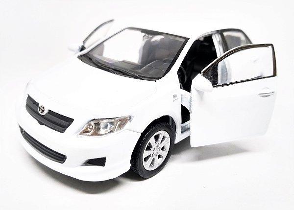 Toyota Corolla Branco - ESCALA 1/43 - 12 CM