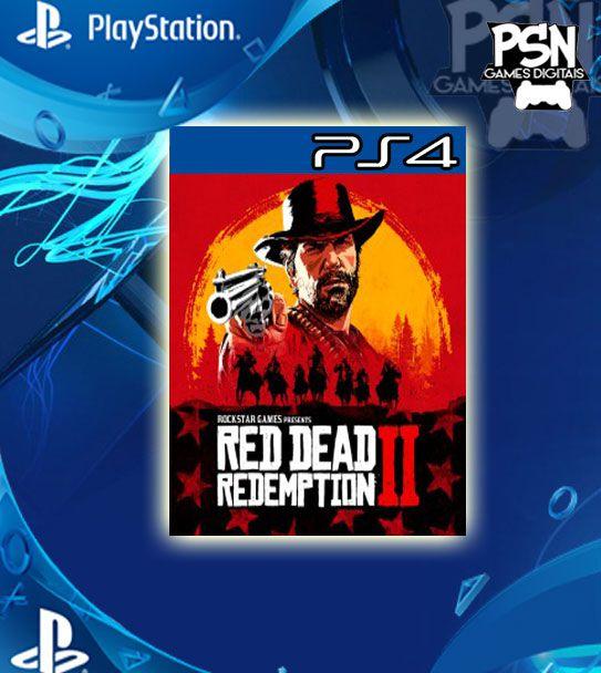 Red Dead Redemption 2 - Ps4 Psn Mídia Digital