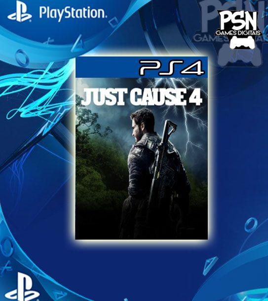 Just Cause 4 - Ps4 Psn Mídia Digital