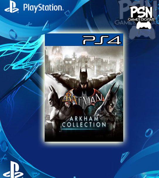 Batman Arkham Collection - Ps4 Psn Mídia Digital