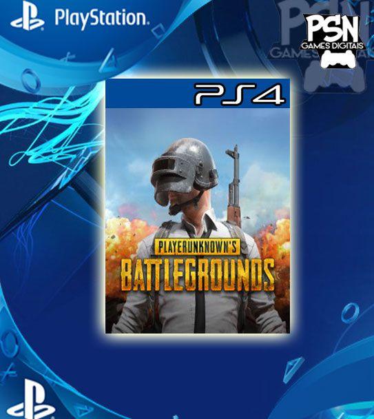 Playerunknowns Battlegrounds - Psn Ps4 Mídia Digital