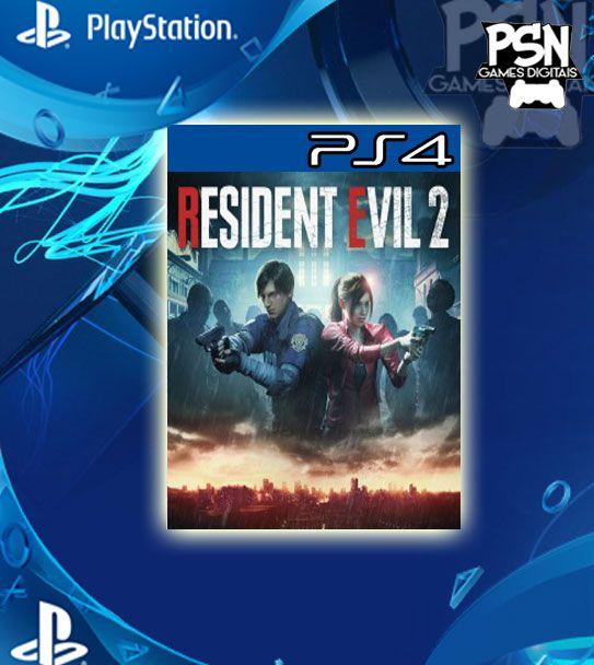 Resident Evil 2 Remake - Psn Ps4 Mídia Digital