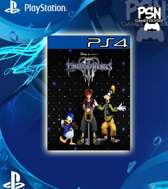 Kingdom Hearts 3 - Psn Ps4 Mídia Digital