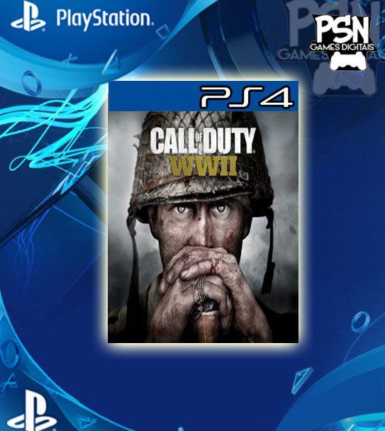Call of Duty WWII - Psn Ps4 Mídia Digital