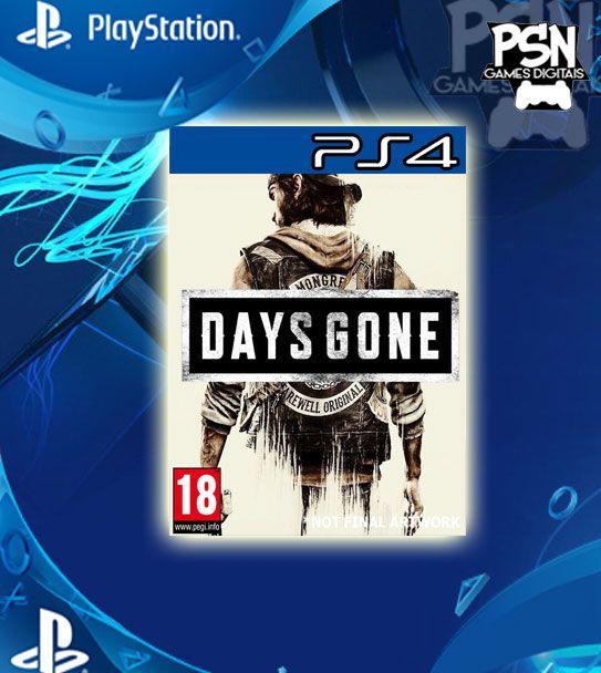 Days Gone - Psn Ps4 Mídia Digital