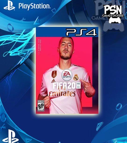 Fifa 2020 - Psn Ps4 Mídia Digital