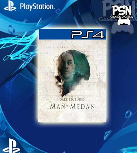 The Dark Pictures Anthology: Man of Medan - Psn Ps4 Mídia Digital