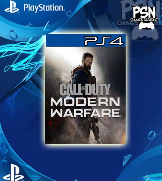 Call of Duty Modern Warfare - Psn Ps4 Mídia Digital