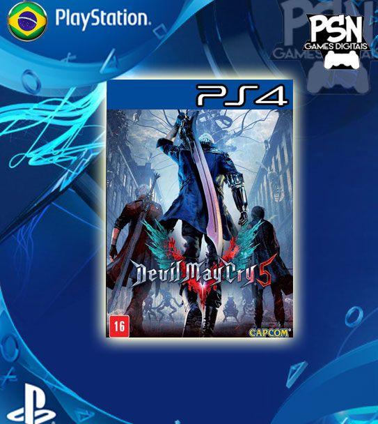 Devil May Cry 5 - Ps4 Psn Mídia Digital