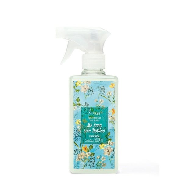 """Água Perfumada Aroeira Essências """"Me Leve Sem Destino"""" - Floral Verde"""