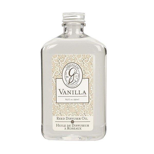 Refil de Óleo Odorizante Difusor Greenleaf Vanilla