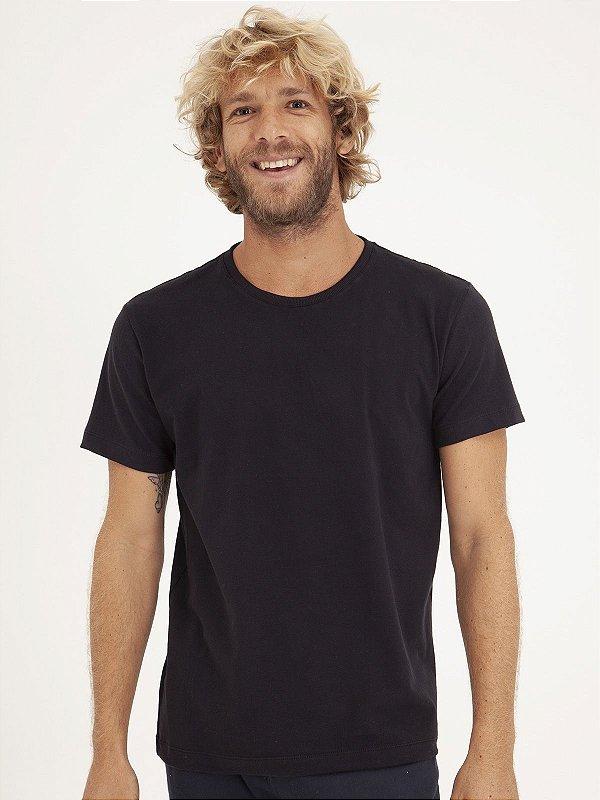 T-shirt Minimal Preto