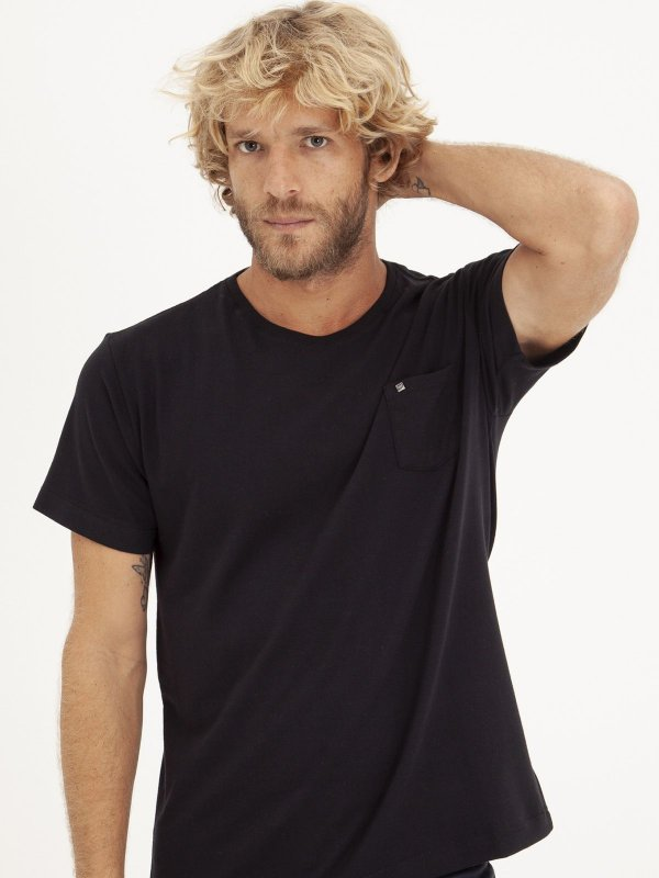 T-shirt Pocket Preto