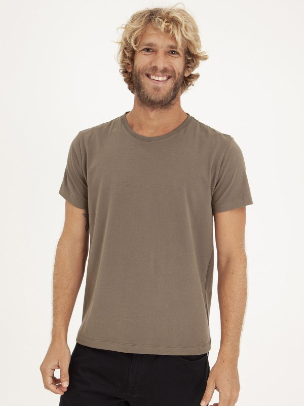 T-shirt Minimal Old Green