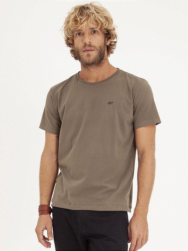 T-shirt Leaf Old Green