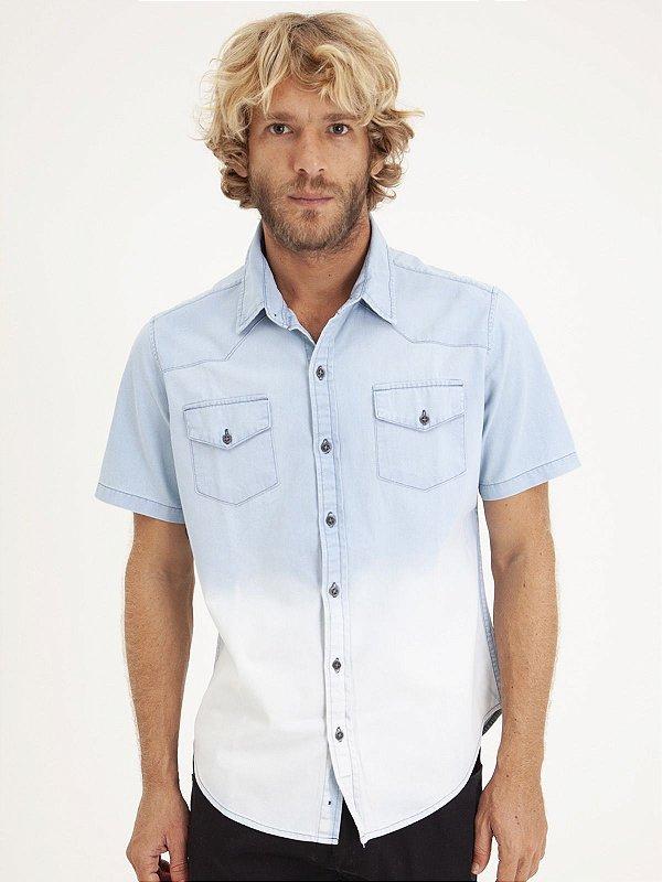 Camisa Jeans Degrade