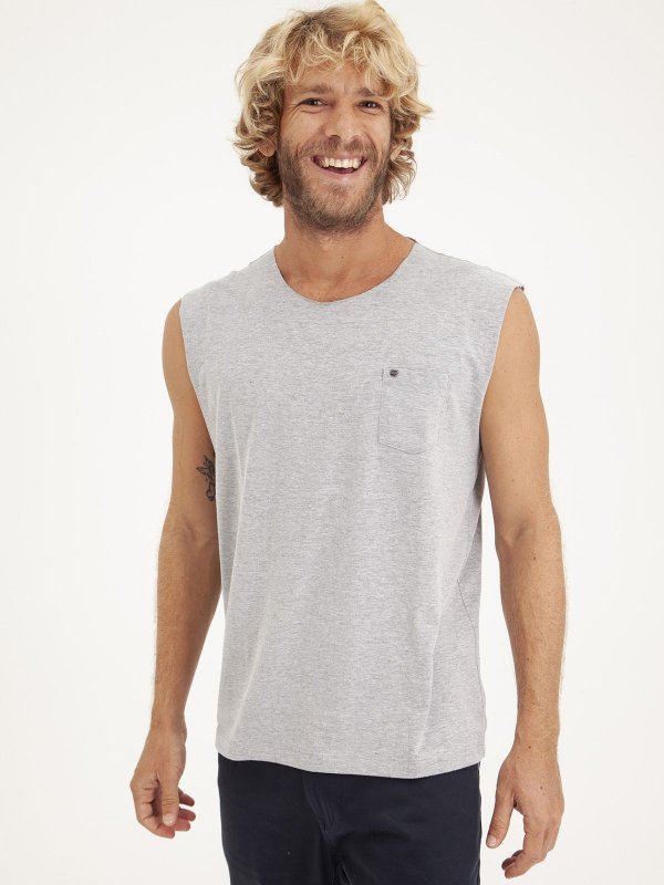 T-shirt Sleeveless Mescla