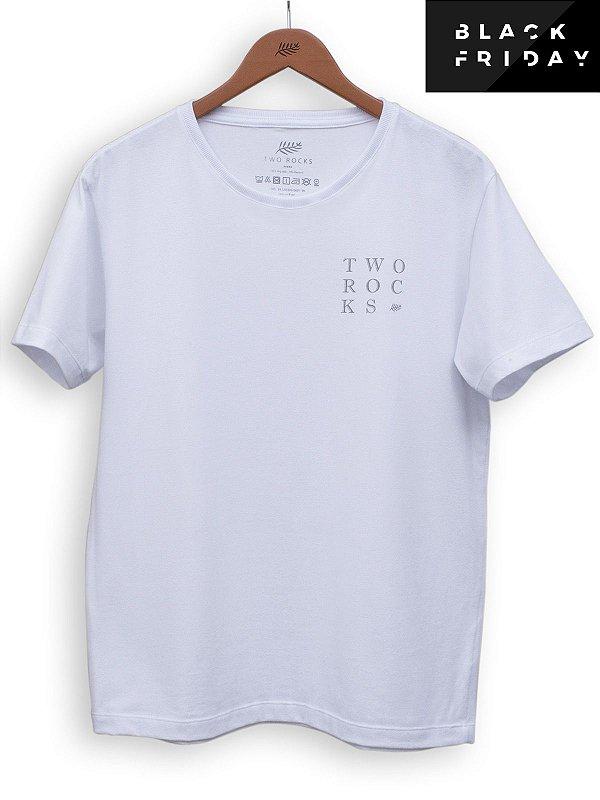 T-shirt Square Branco