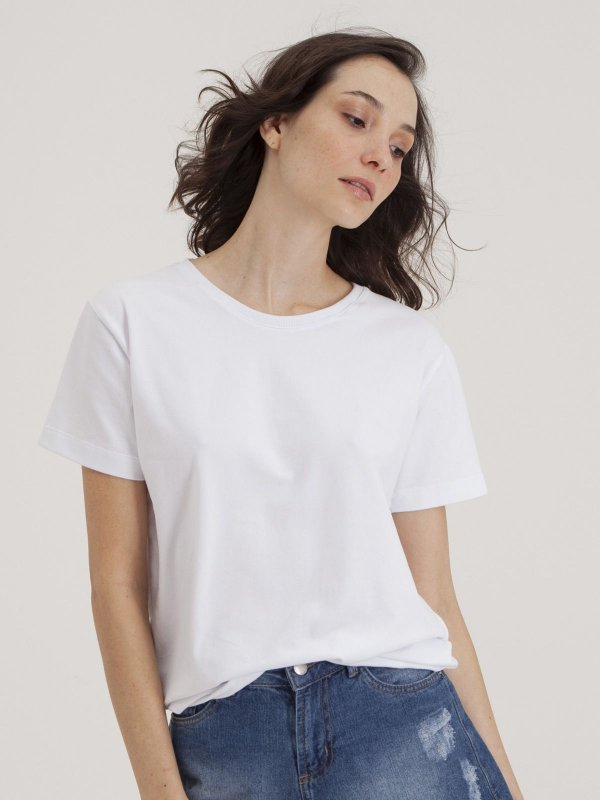 T-shirt Minimal Branco