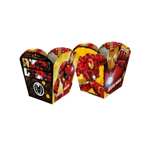 Mini Cachepot Festa Homem de Ferro - 04 unidades - Regina - Rizzo