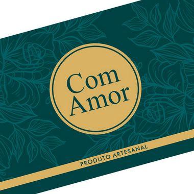 Tira Decorativa com Amor - Tam P / M / G - 5 unidades - Rizzo