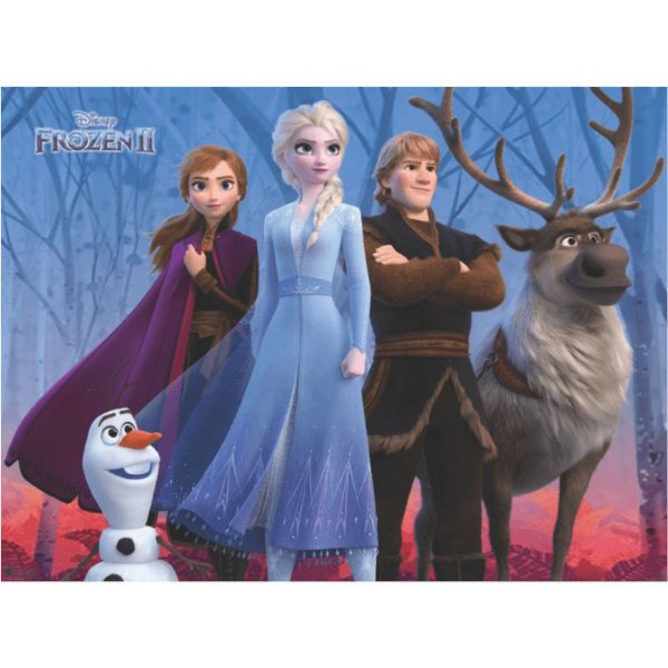 Painel Grande TNT Frozen 2  -1,40x1,03m - Piffer - Rizzo Embalagens