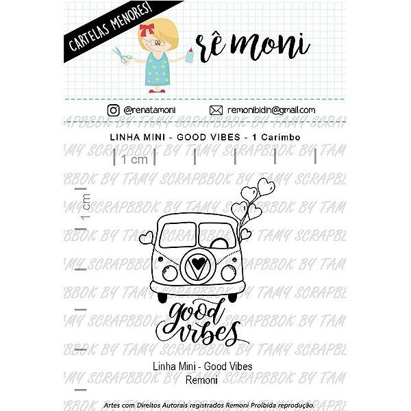Carimbo Mini Good Vibes Cod 41000028 - 01 Unidade - Lilipop Carimbos - Rizzo Embalagens