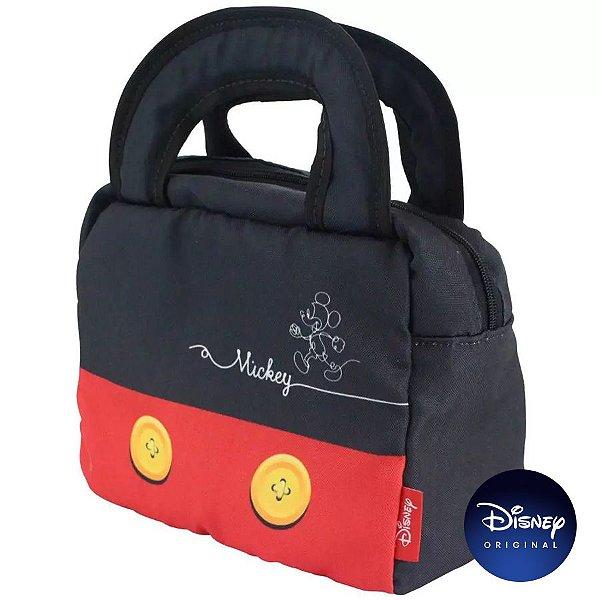 Lancheira Térmica Roupa Mickey Mouse - Disney Original - Zona Criativa - 01 Un - Rizzo
