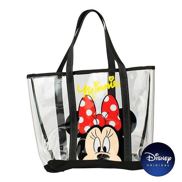 Bolsa Transparente Minnie Mouse G - Disney Original - 1 Un - Rizzo