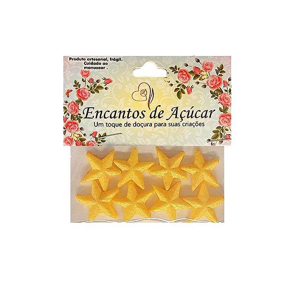 """Confeitos Comestíveis """"Estrela de Natal"""" - 01 Unidade - Rizzo Embalagens"""