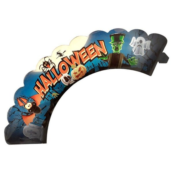 Wrapper para CupCake Festa Halloween - 12 unidades - Nc Toys - Rizzo Embalagens