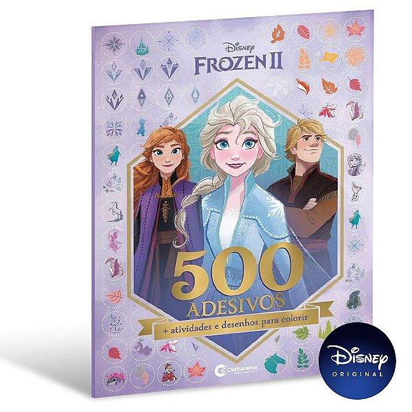 Livro 500 Adesivos Frozen 2 - 01 Unidade - Culturama - Rizzo