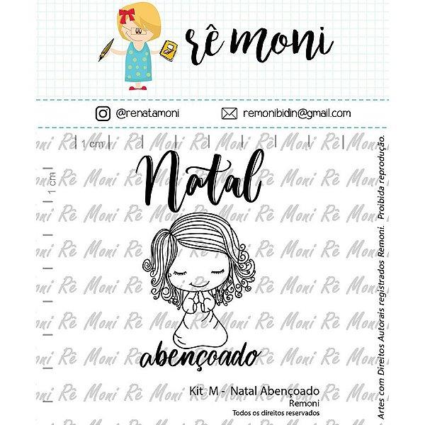 Cartela de Carimbos M - Natal Abençoado - Remoni Cod 41000047 - 01 Unidade - Rizzo