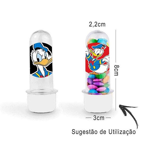 Mini Tubete Lembrancinha Festa Mickey Mouse 8cm 20 unidades - Branco - Rizzo Embalagens