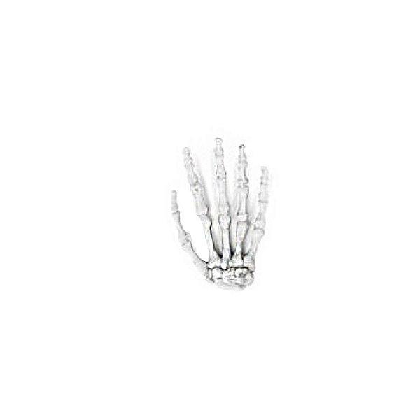 Enfeite Decorativo Halloween - Mão de Caveira - 01 unidade - Cromus - Rizzo Embalagens