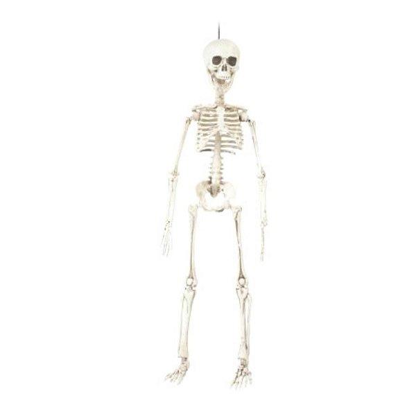 Enfeite Decorativo Halloween - Esqueleto Caveira - 48cm - 01 unidade - Cromus - Rizzo Embalagens