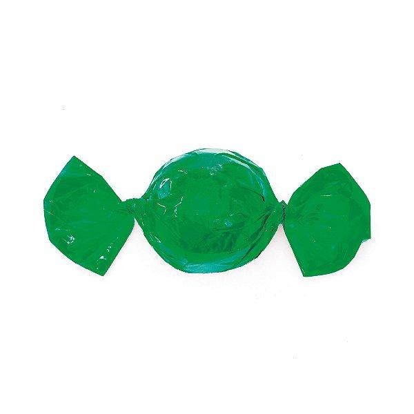 Papel Mini Trufa - 12x12,5cm - Verde Bandeira - 100 unidades - Cromus - Rizzo Embalagens