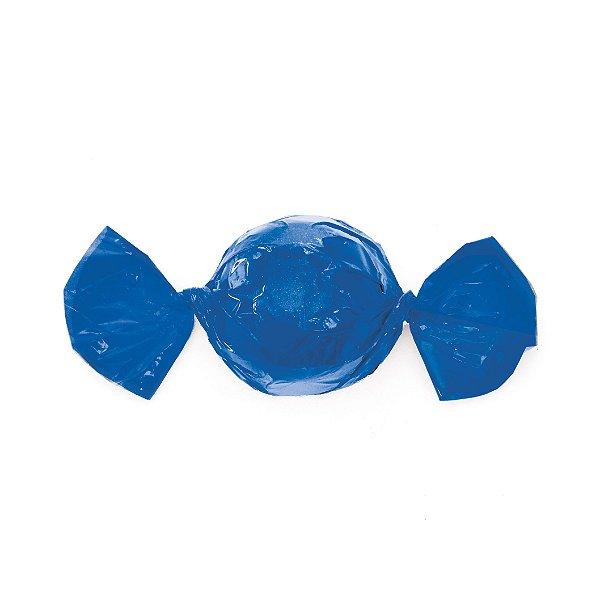 Papel Trufa 15x16cm - Azul - 100 unidades - Cromus - Rizzo Embalagens