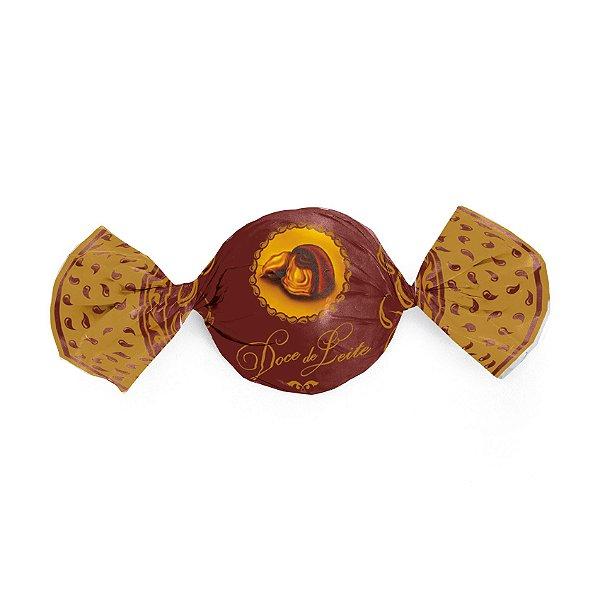 Papel Trufa - Doce de Leite - 14,5x15,5cm - 100 unidades - Cromus - Rizzo Embalagens
