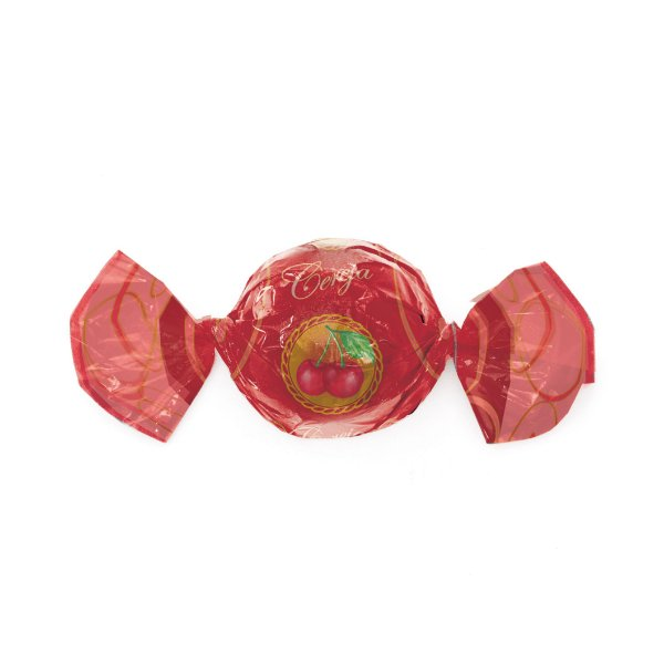 Papel Trufa 14,5x15,5cm - Cereja - 100 unidades - Cromus - Rizzo Embalagens