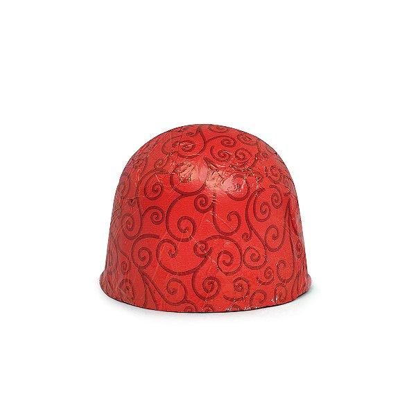 Papel Chumbo 8x7,8cm - Arabesco Vermelho - 300 folhas - Cromus - Rizzo Embalagens