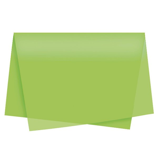 Papel de Seda - 49x69cm - Pistache - 100 folhas - Cromus - Rizzo Embalagens