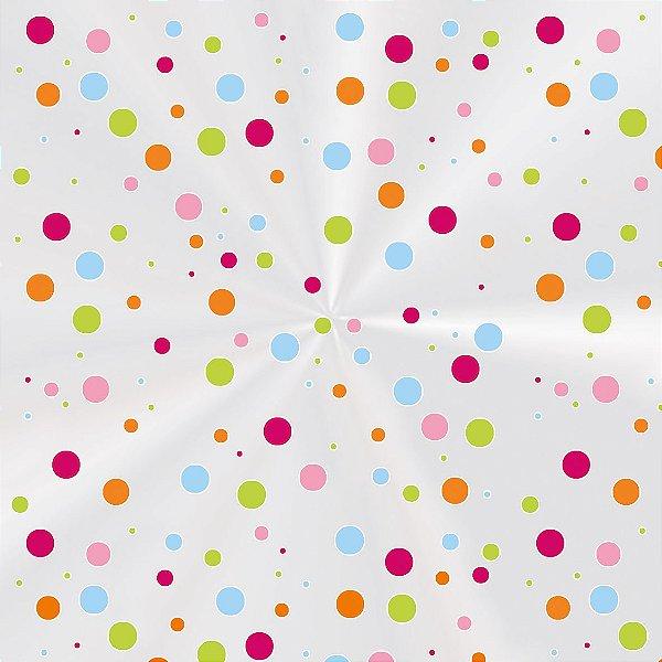 Saco Decorado Colorê - 10x14cm - 100 unidades - Cromus - Rizzo Embalagens